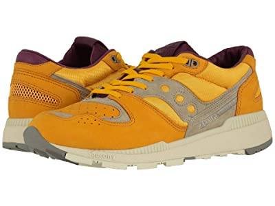Saucony Originals Azura Weathered (Yellow/Purple) Men