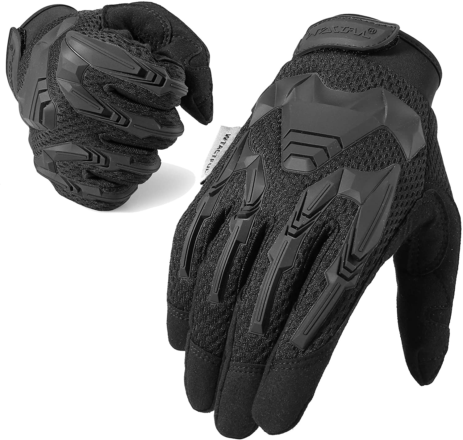TACTFUL Touch Screen Motorcycle Full Finger Gloves