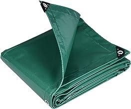 WOLTU GZ1209m02 Dekzeil bescherming PVC zeildoek 500 g/m²,Afdekzeil waterbestendig,UV-bestendig en zon bescherming,3x4m Groen