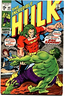 INCREDIBLE HULK #141 comic book-FIRST DOC SAMSON-BRONZE AGE MARVEL FN