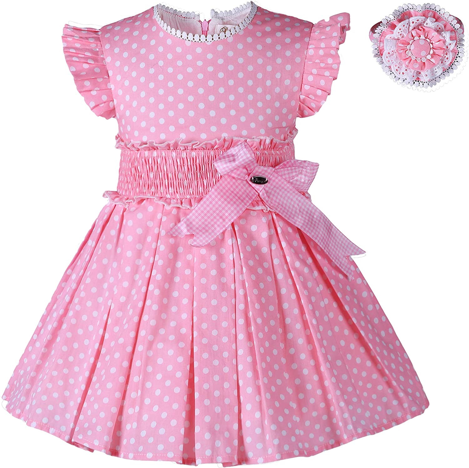Pettigirl Summer New product Princess Party Dress Pink Elegant Kids outlet Outfits