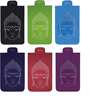 Heartzy Set of 6 Buddha Magnetic Bookmark Combo | Gift for Booklovers