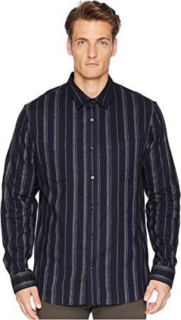 Flannel Stripe Long Sleeve