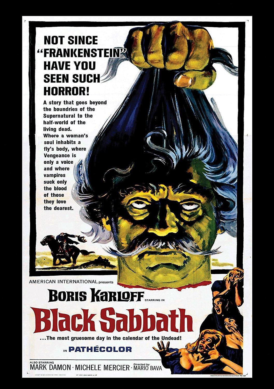 Amazon.com: Black Sabbath : Michèle Mercier, Lidia Alfonsi, Mark Damon,  Boris Karloff, Mario Bava: Movies & TV