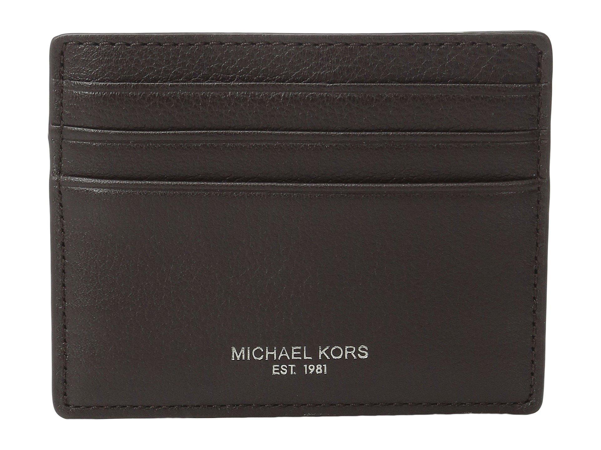 Monedero para Hombre Michael Kors Bryant Tall Card Case  + Michael Kors en VeoyCompro.net
