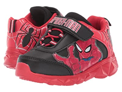 Favorite Characters Spider-Mantm Lighted Athletic CL SPF376 (Toddler/Little Kid) (Red) Boy