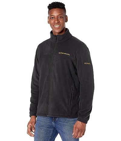 Columbia College Oregon Ducks Flankertm III Fleece Jacket (Black) Men