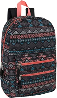 """Travel Laptop Backpack Casual Daypack Outdoor Sports School Shoulder Bag for Women and Girls, 18"""" Water Resistant"""