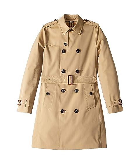 Burberry Kids Mayfair Coat (Big Kids)
