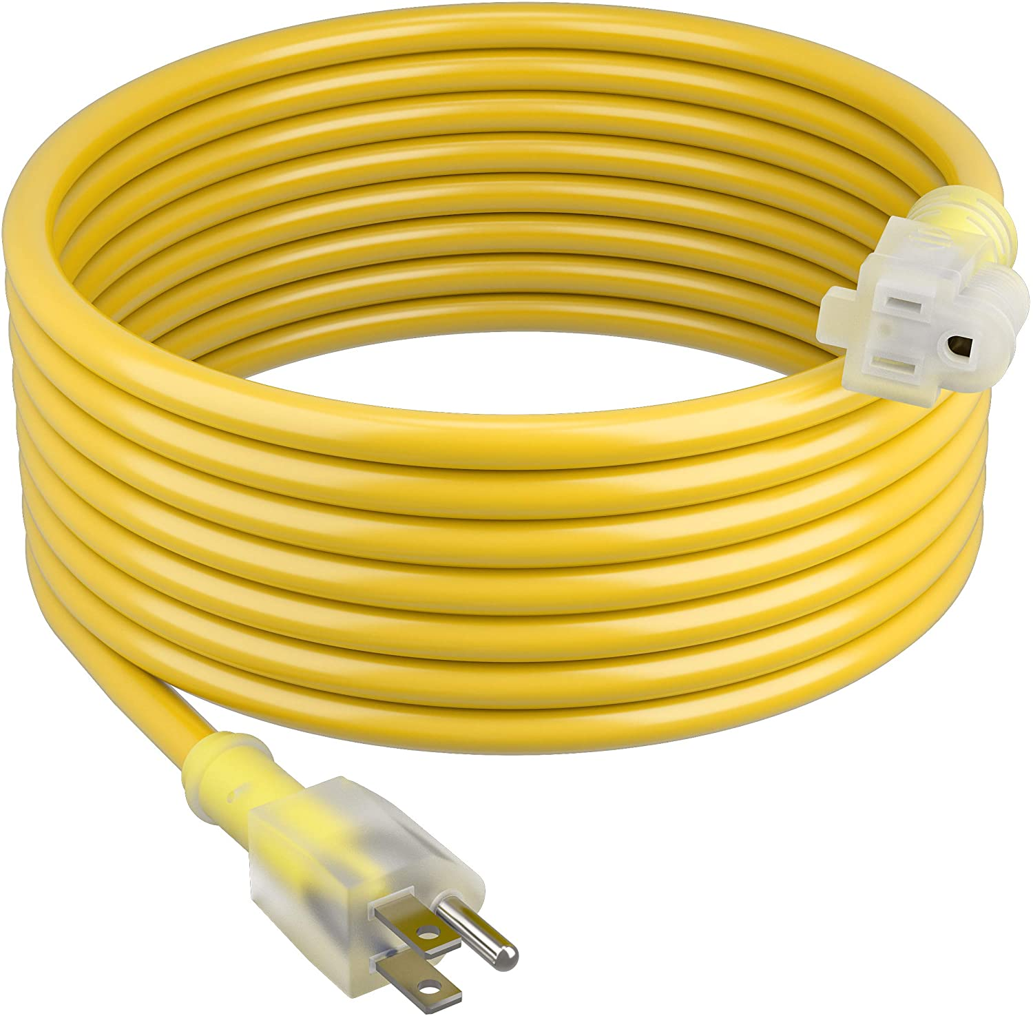 GearIT Extension Selling Cord 14 3 100 Heavy Duty SJTW Feet with Lighted High material