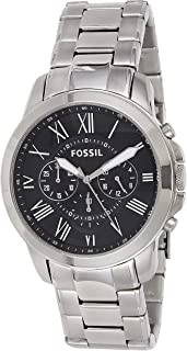 fossil chronograph watch change date