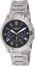 Best fossil chronograph silver Reviews