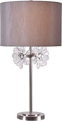Kenroy Home Haley Table Lamp Light Wood 32985NWDG