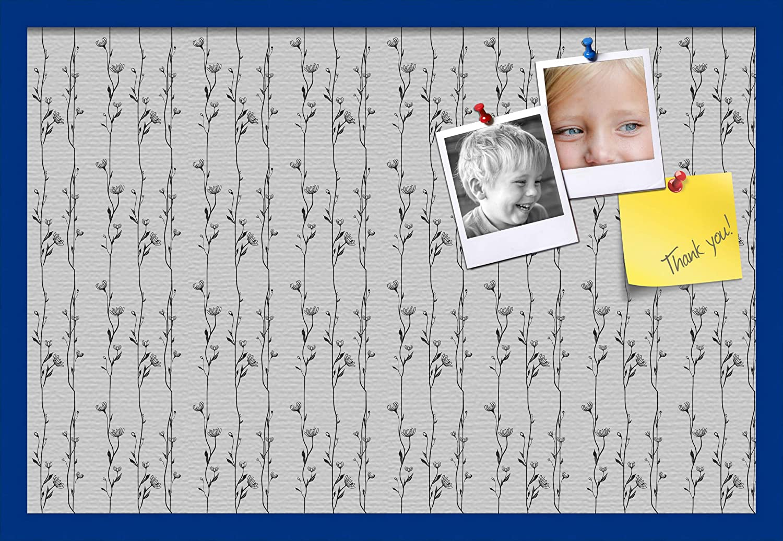 ArtToFrames 30x20 Custom Cork Bulletin Board. Floral Max 65% OFF Phoenix Mall This Design