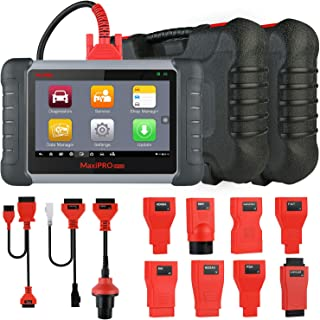 Autel MP808K Diagnostic Scan Tool with OE-Level All Systems Diagnosis and 23 Services, Key Coding, Bi-Directional Control, Auto VIN, Oil Reset, TPMS, EPB, BMS, SAS, DPF, Upgraded Ver. of DS808, MP808