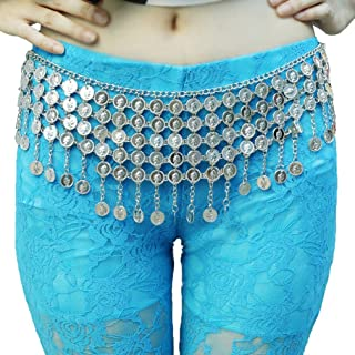 Women's Belly Dance Tower Shape Metal Hip Scarf