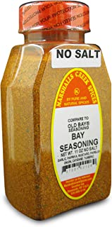 Marshalls Creek Kosher Spices, (st07), MARYLAND STYLE SEAFOOD SEASONING NO SALT (COMPARE TO OLD BAY 11 oz
