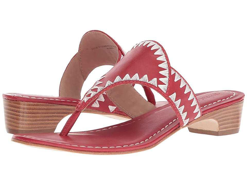 Bernardo Gabi Sandal (Red Antique Calf) Women