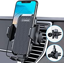 VANMASS Universal Car Phone Holder, [Original & Patent ] Cell Phone Holder for Cars, Upgraded Adjustable Bottom Foot Car Phone Mount Vent for iPhone 11 Xs Max XR X 8 7 SE Samsung S20 S10 S9 S8 Note 10