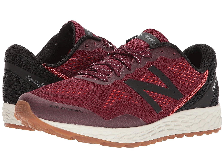 (ニューバランス) New Balance メンズランニングシューズ?スニーカー?靴 Fresh Foam Gobi v2 Oxblood/Black 10.5 (28.5cm) D - Medium