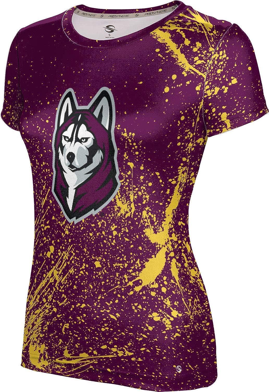 ProSphere Bloomsburg University Girls' Performance T-Shirt (Splatter)
