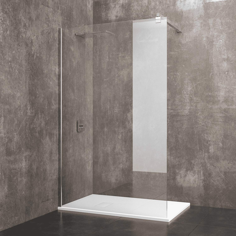 Mampara de ducha fija Walk de Praia cabina de baño con barra ...
