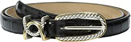 "Cable 3/4"" Classic Skinny Belt"