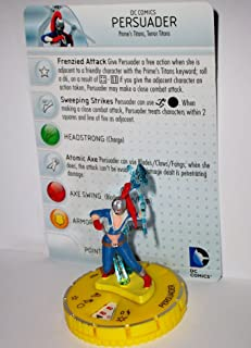 Heroclix DC Teen Titans #060 Persuader (Chase) Figure with Card