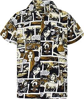 King Kameha Original Camisa Hawaiana | Caballeros |XS - 6XL