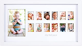 Pearhead My First Year Photo Moments Baby Keepsake Frame, Gift For Mom To Be or Expecting Parents AmazonUs/PEKJ9 81013