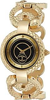 Just Cavalli Womens Quartz Watch, Analog-Digital Display and Stainless Steel Strap JC1L074M0035
