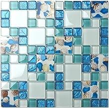 Best blue sea glass tile Reviews
