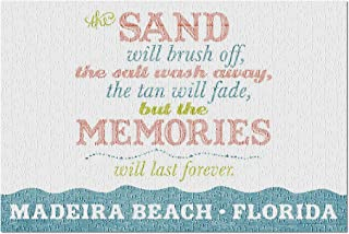 Madeira Beach, Florida - Beach Memories Last Forever 88184 (Premium 500 Piece Jigsaw Puzzle for Adults, 13x19, Made in USA!)