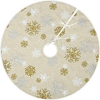Best snowflake christmas tree skirt crochet pattern Reviews