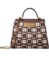 ZAC Zac Posen - Earthette Double Compartment Mini w/ Floral Broaches - Multi