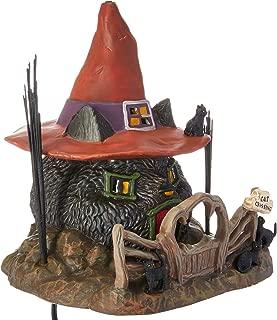 Department 56 Snow Village Halloween Black Cat Shack Lit House, 7.88