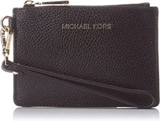 MICHAEL Michael Kors Women's Mercer Small Coin Purse, Black, One Size