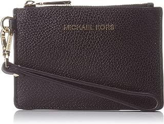 MICHAEL Michael Kors Women's Mercer Small Coin Purse, Black, One Size