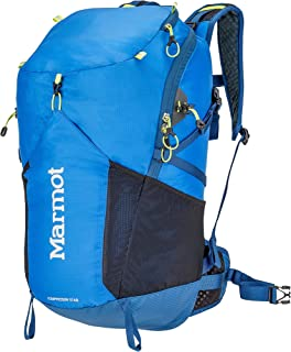 Marmot Kompressor Star Lightweight Hiking Backpack, Peak Blue/Dark Sapphire
