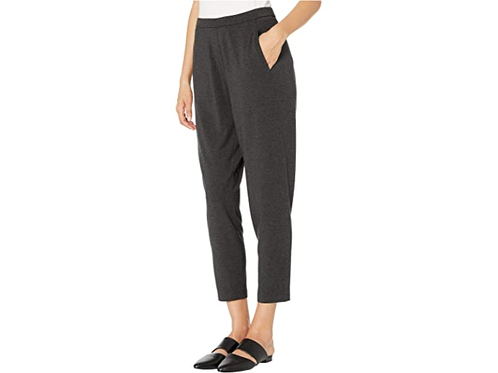 Black Eileen Fisher Womens Organic Cotton Cozy Stretch Skinny Jeans Size 6