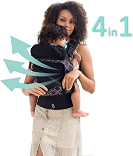 LÍLLÉbaby 4 in 1 Essentials All Seasons Baby Carrier, Circle of Love
