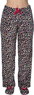 Women's Fuzzy Super-Soft Pajama/Lounge Pants and Slippers Set