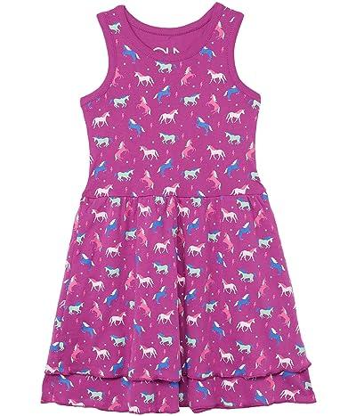 Chaser Kids Baby Rib Tiered Tank Dress (Little Kids/Big Kids)