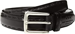 John Varvatos Star U.S.A. - Feather Edge w/ Pick-Stitch Belt