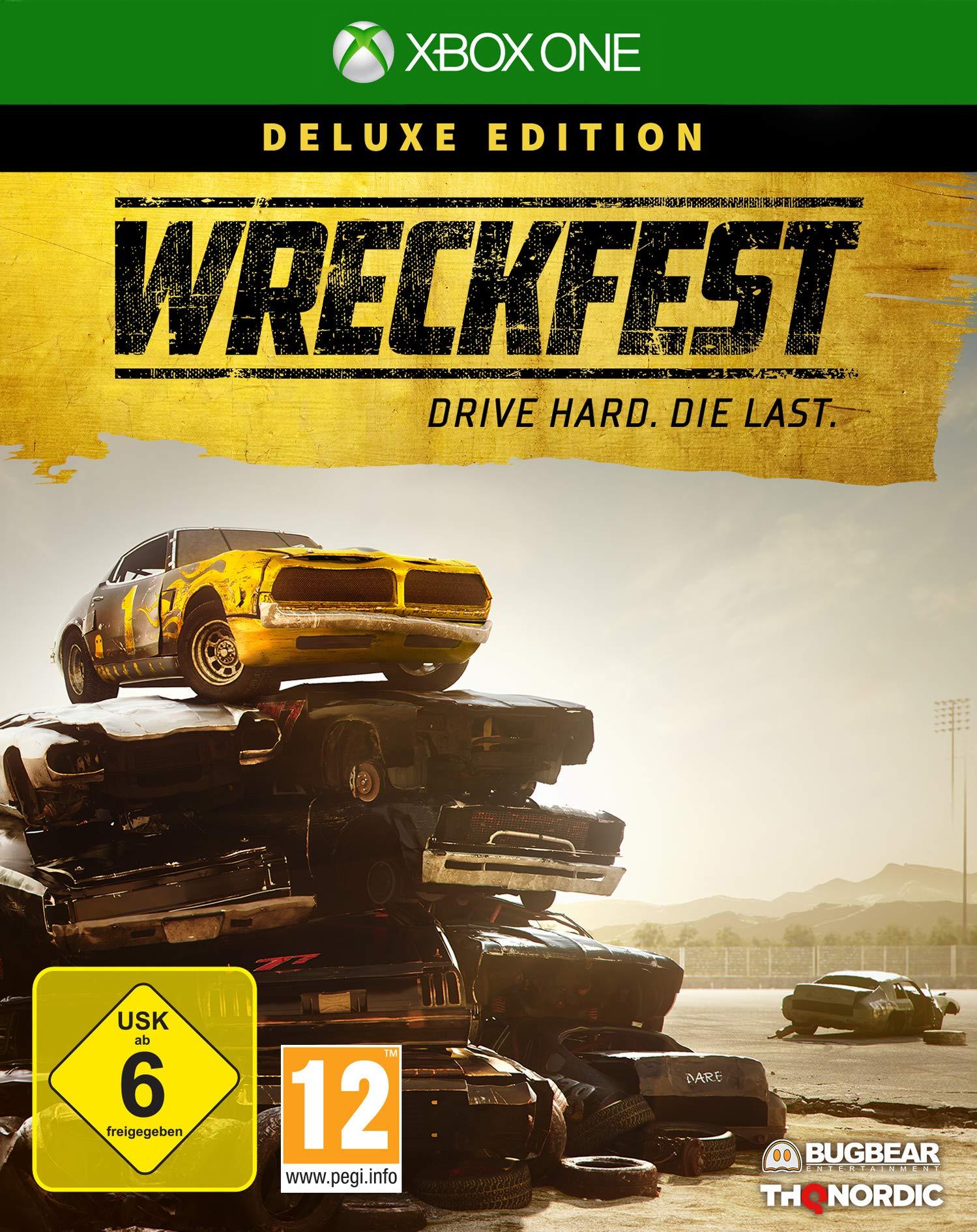 Wreckfest Deluxe Edition [Xbox One] [Importacion Alemania]: Amazon.es: Videojuegos
