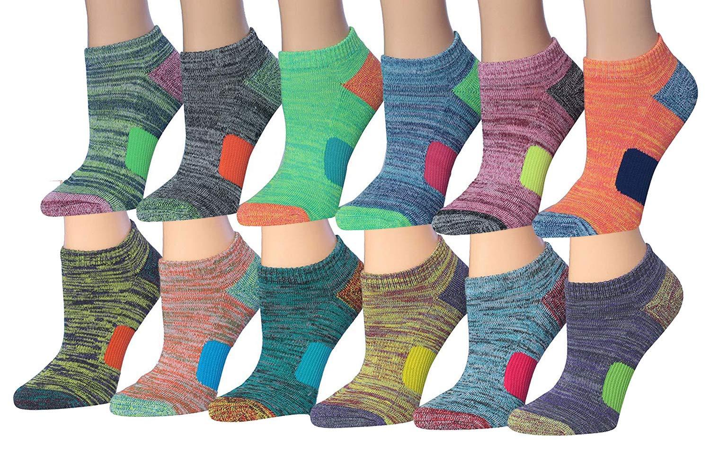 Women/'s 8 pairs ankle Low Cut Black Solid Cotton Socks fit shoe size 6-10