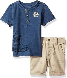 Baby Boys 2 Pieces Tee Shirt Shorts Set