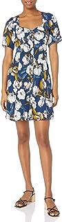 MINKPINK Women's Pacifico Tea Floral Print Dress