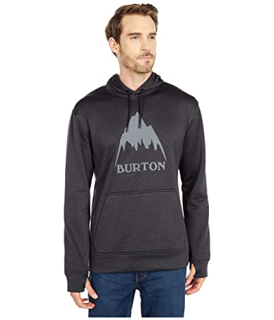 Burton Oak Pullover Hoodie (True Black Heather) Men