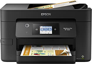 "$149 » Epson Workforce Pro WF-3820 Wireless All-in-One Printer with Auto 2-Sided Printing, 35-Page ADF, 250-sheet Paper Tray and 2.7"" Color Touchscreen"
